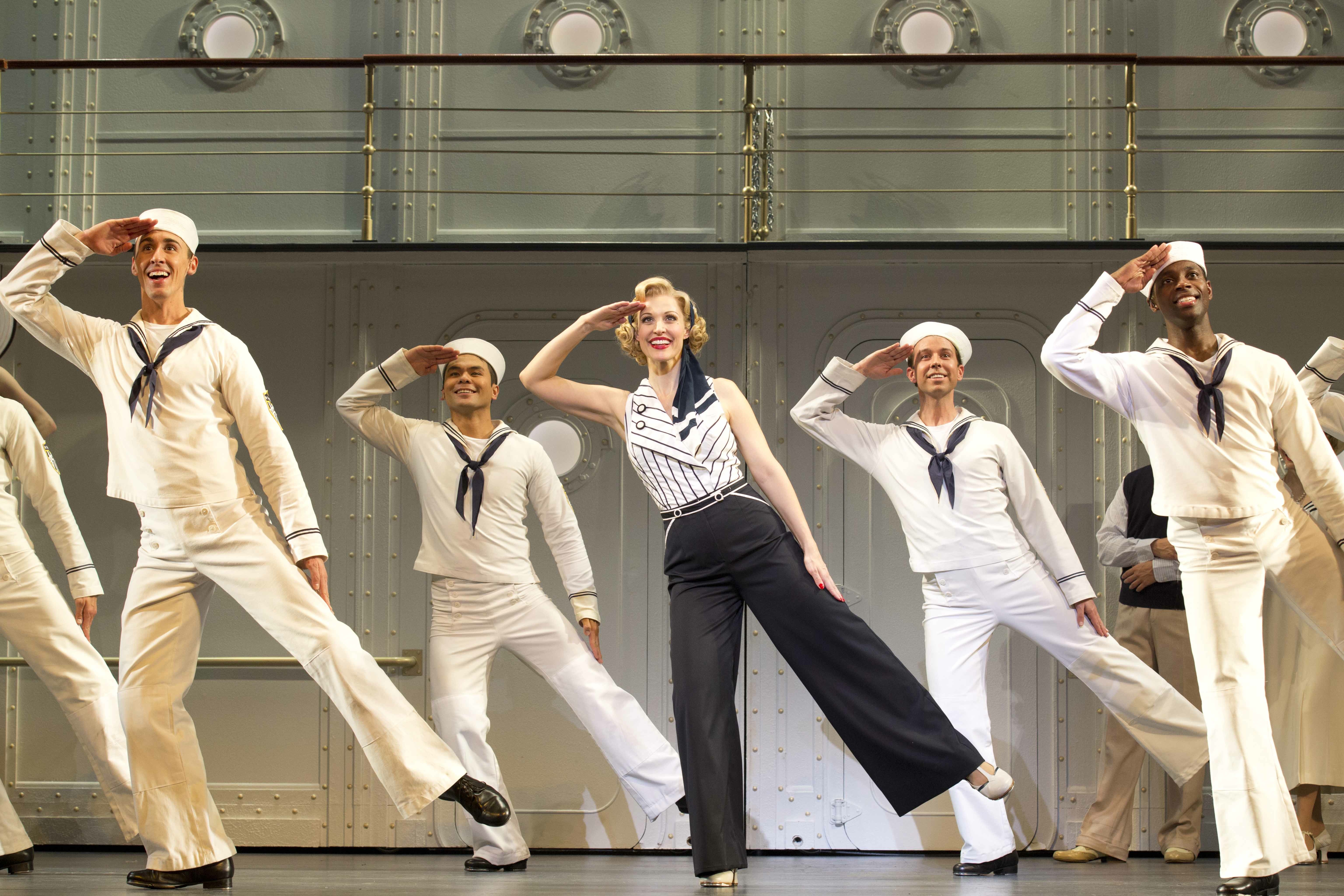 """Doing it Right: """"Anything Goes"""" polished, like new   Stage ... Rachel Struck"""