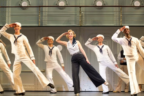 """Rachel York radiates star power with the cast of """"Anything Goes"""" at the Ahmanson"""