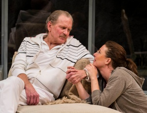 "Robert Foxworth and Robin Weigert are father and daughter in ""Other Desert Cities"""
