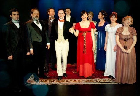 The period-ready, polished and funny performers from which each night's  Impro Theatre cast is drawn