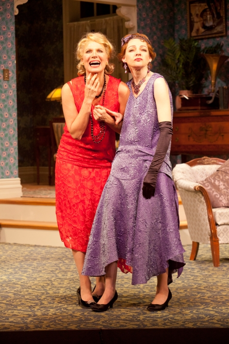 "Pamela J. Gray and Katie MacNichol create the delight in ""Fallen Angels"" at the Pasadena Playhouse"