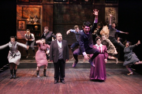 The cast of Spring Awakening in La Mirada [photos: Michael Lamont]