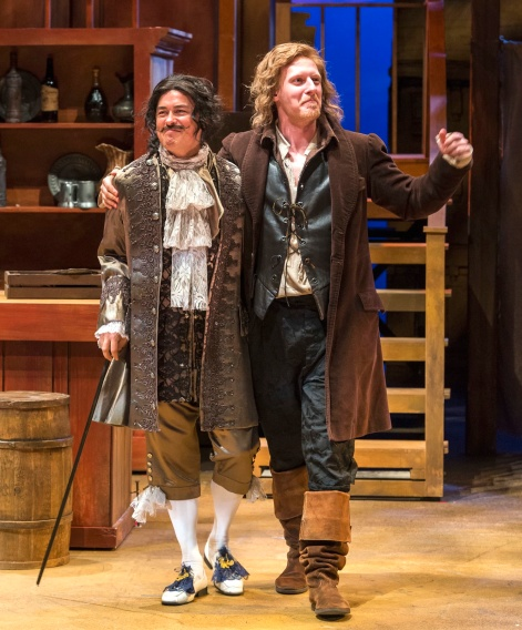 """Freddy Douglas and Blake Ellis on the make in """"The Beaux Stratagem"""" at A Noise Within"""
