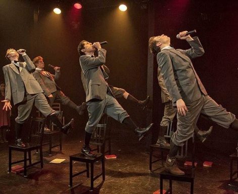 "The schoolboys of Theatre 360s ""Spring Awakening"" release their inner frustrations"