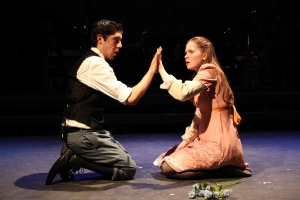 Cristian Guerrero and Sarah Colt as Melchior and Wendla