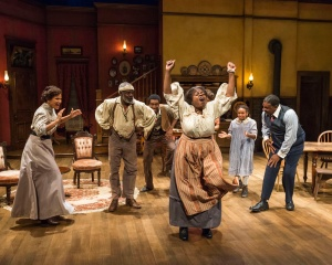 "A moment of jubilee in ""Joe Turner's Come and Gone"" at the Mark Taper Forum"
