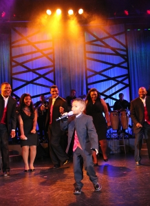 7-year-old CJ Wright sings up a storm in The Sounds of  Motown