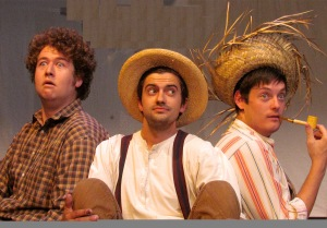 "Hank Doughan, Mike Rosenbaum, and Jason Thomas bring ""Tom Sawyer"" to life"