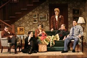 "The cast of La Mirada's ""Broadway Bound"""