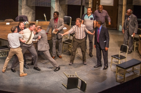 "A confrontation with the cast of Pasadena Playhouse's ""12 Angry Men"""