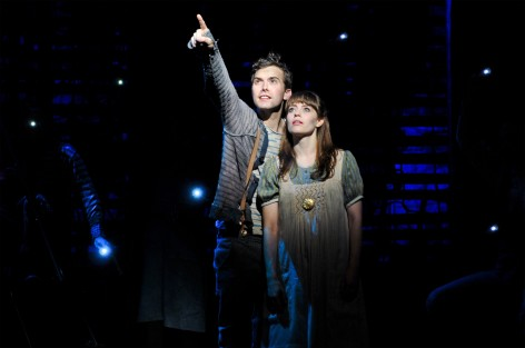 Joey deBettencourt and Megan Stern as Peter and Molly [photo: Jenny Anderson}