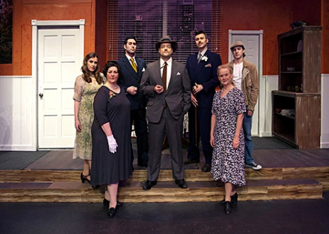 "The cast of ""Laura"" mysteriously appears at Whittier Community Theatre"