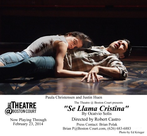 "The opening of ""Se Llama Cristina"" at Boston Court"