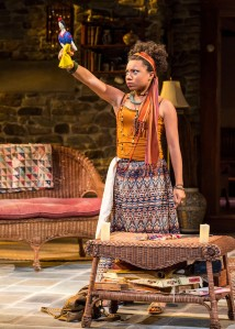Shalita Grant as the wise and weird Cassandra [photo: Craig Schwartz]