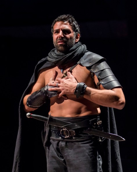 "Elijah Alexander is the ill-fated ""MacBeth"" at A Noise Within [photo: Craig Schwartz]"