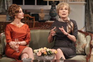 Sharon Lawrence and Roxanne Hart as the two sides of care for a famed yet innately frightened man