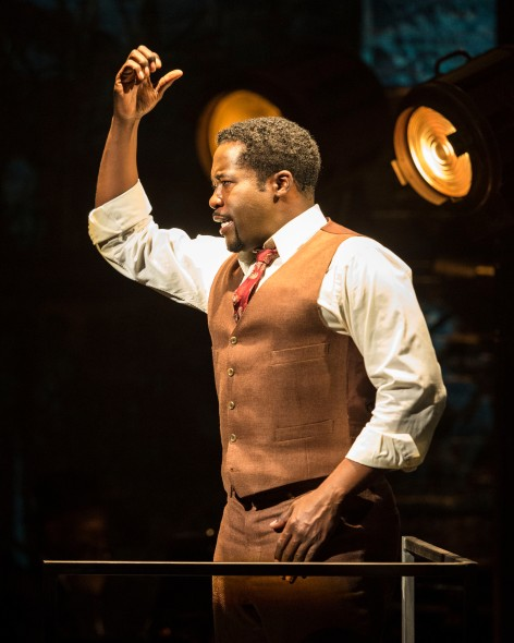 "Daniel Beaty is Paul Robeson in the one-man show he also penned, ""The Tallest Tree in the Forest"""