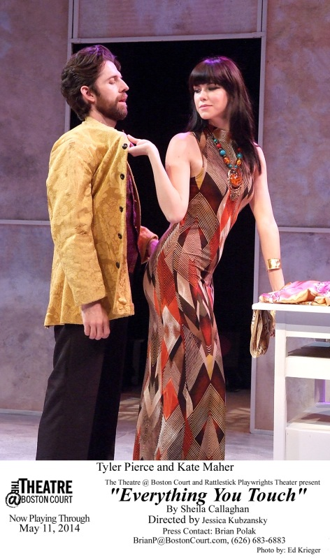 """Tyler Pierce and Esme Pierce evoke the world of high fashion in """"Everything You Touch"""" at Boston Court"""