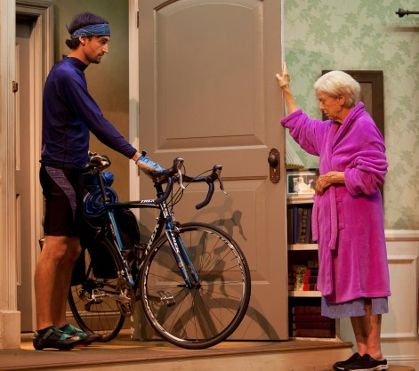 "Christian Prentice and Mimi Cozzens in ""4,000 Miles,"" now at Sierra Madre Playhouse [photo: Gina Long]"