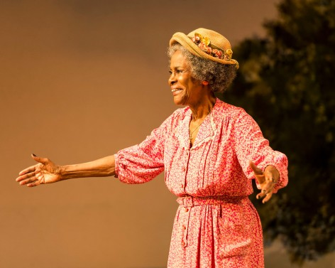 "Cecily Tyson sparkles in ""The Trip to Bountiful"" at the Ahmanson [photo: Craig Schwartz]"