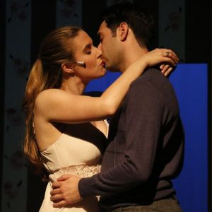 Amy and Jason Miramontes (who are married) play lovers Babe and Sid