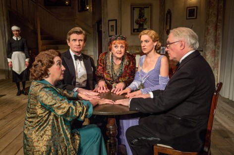 "Angela Lansbury, in her Tony-winning role, headlines the cast of ""Blithe Spirit"" at the Ahmanson"