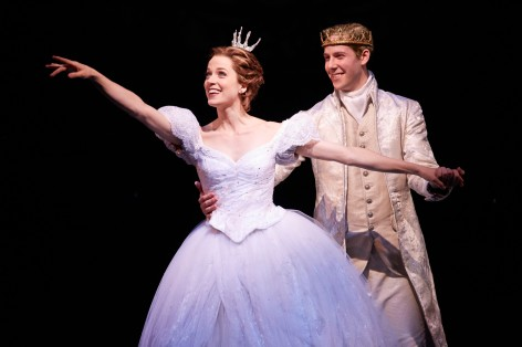 "Paige Faure and Andy Huntington Jones in the reimagined Rogers and Hammerstein's ""Cinderella"""