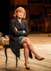 Kate Burton is the long-suffering wife [photo: Craig Schwartz]