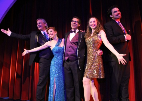 "The cast of Sierra Madre Playhouse's ""Putting it Together."" [photo: John Dlugolecki Photography]"