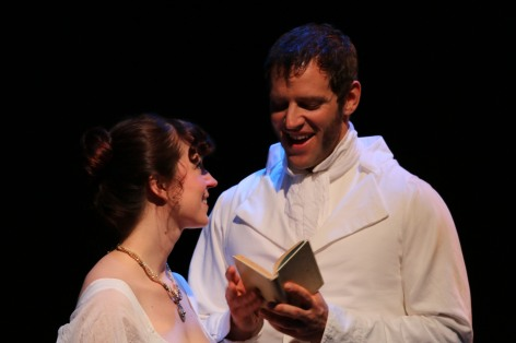 "Kelly Lohman and Travis Goodman play the star-crossed lovers in ""The Elliots"", an adaptation of Jane Austin's work [photo: Kate Felton]"