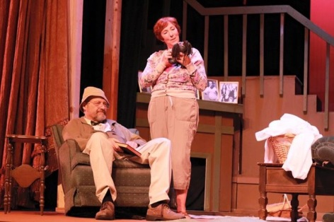 "Joe Parrish and Rosemary London lead the cast in Covina Center for the Performing Arts' ""On Golden Pond"""