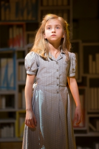 "Mabel Tyler in the National Tour of ""Matilda The Musical."" [Photo:  Joan Marcus]"