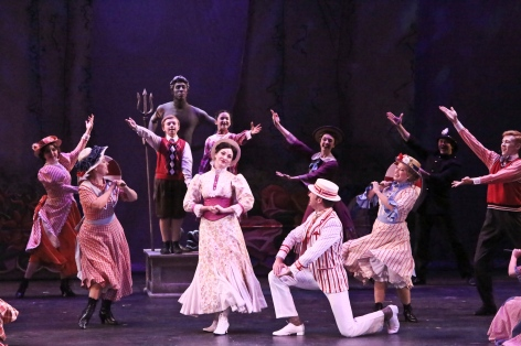 It's a jolly holiday with Mary Poppins and crew at La Mirada Theatre [photo: Michael Lamont]