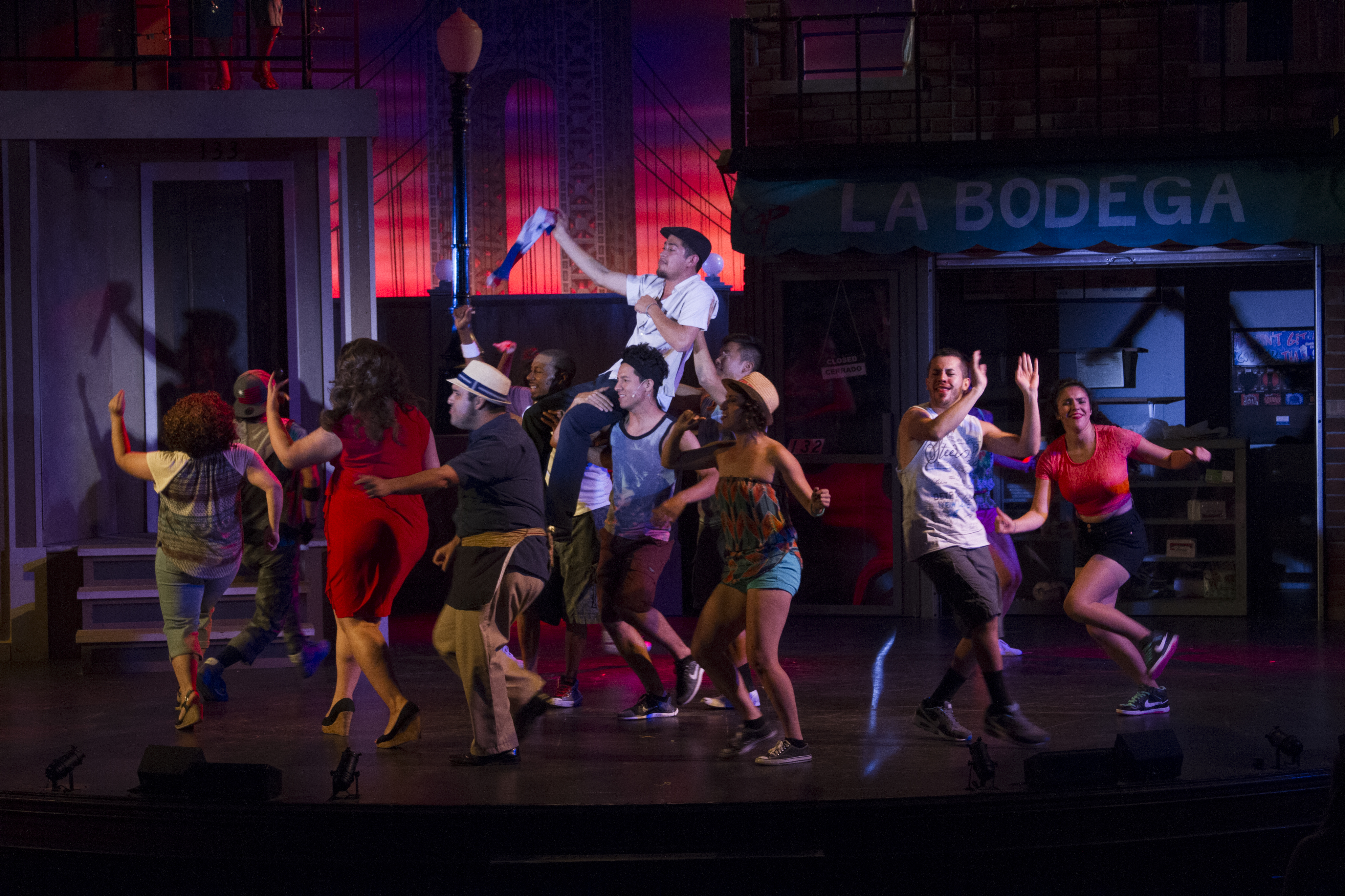 in the heights review Sorry i was going to put the lyrics in the desciption but you tube wouldn´t let me because it is too long but they will be in the other songs.