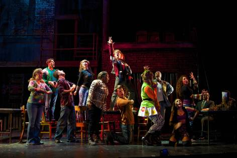 """Rent"" at La Mirada Theater [photo: Jason Niedle]"