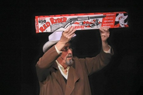 "The Red Ryder BB gun at the center of the nostalgic ""A Christmas Story"" at Covina Center"