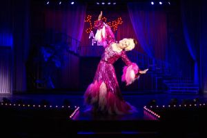 "Chuck Ketter's Albin invites you to ""see life from a different angle"" in La Cage Aux Folles"